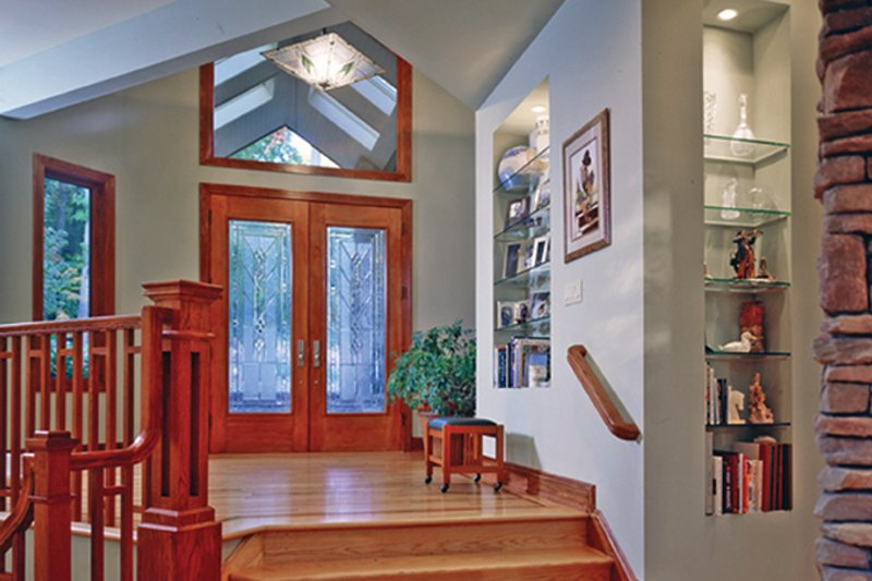 Contemporary Interior - Entry Plan #314-287 - Houseplans.com