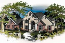 Home Plan - Mediterranean Exterior - Front Elevation Plan #952-74