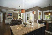 Bungalow Style House Plan - 2 Beds 2.5 Baths 2243 Sq/Ft Plan #928-169 Interior - Kitchen
