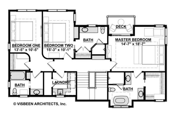 Contemporary Floor Plan - Other Floor Plan Plan #928-270