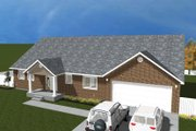 Traditional Style House Plan - 5 Beds 5 Baths 5160 Sq/Ft Plan #1060-20 Exterior - Front Elevation