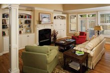 House Plan Design - Country Interior - Family Room Plan #929-542