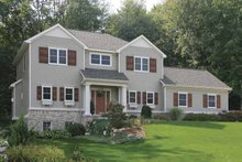 Country Exterior - Front Elevation Plan #928-162