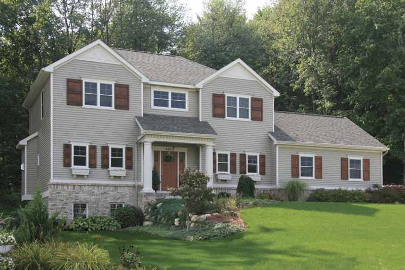 Country Exterior - Front Elevation Plan #928-162 - Houseplans.com