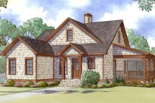 House Plan Design - Craftsman Exterior - Front Elevation Plan #17-3370
