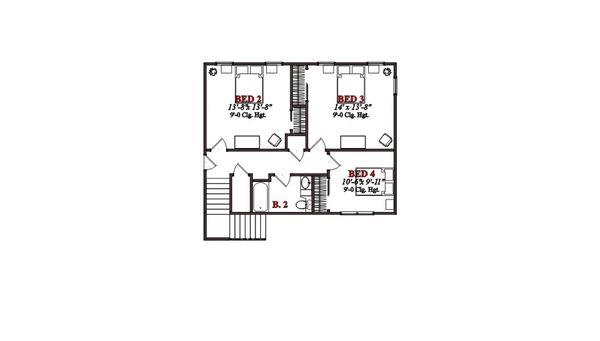 Farmhouse Floor Plan - Other Floor Plan Plan #63-362