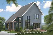 Cottage Style House Plan - 3 Beds 2.5 Baths 1512 Sq/Ft Plan #23-2736