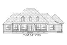 Country Exterior - Front Elevation Plan #1054-75