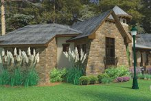 House Plan Design - Cottage Exterior - Other Elevation Plan #120-244