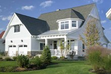 Architectural House Design - Craftsman Exterior - Front Elevation Plan #928-60