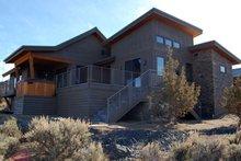 Ranch Exterior - Rear Elevation Plan #895-76