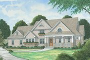 Traditional Style House Plan - 4 Beds 4.5 Baths 3592 Sq/Ft Plan #413-886