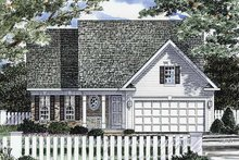 Architectural House Design - Craftsman Exterior - Front Elevation Plan #316-234