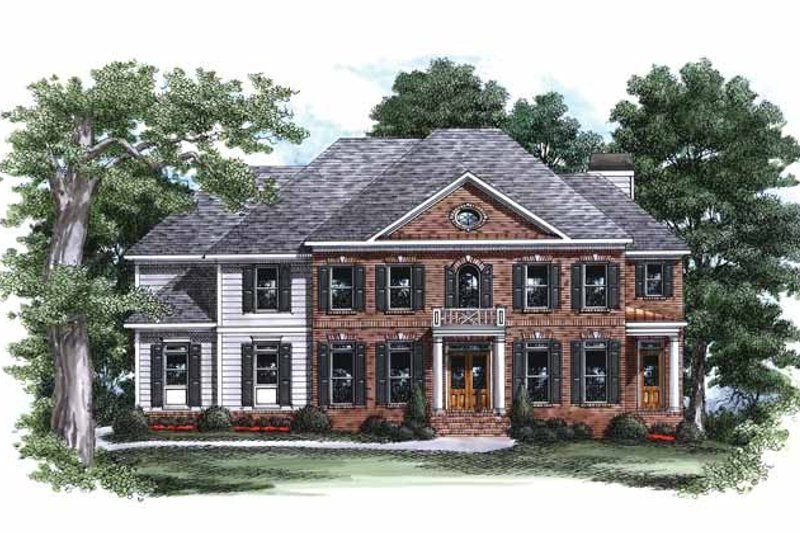 Classical Exterior - Front Elevation Plan #927-798 - Houseplans.com