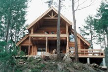 Craftsman Exterior - Front Elevation Plan #118-148