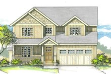 Traditional Exterior - Front Elevation Plan #53-578