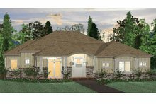 Architectural House Design - Colonial Exterior - Front Elevation Plan #937-38