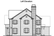 Traditional Style House Plan - 4 Beds 4.5 Baths 4250 Sq/Ft Plan #490-9 Exterior - Other Elevation