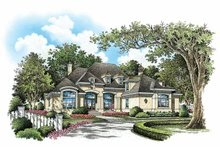House Plan Design - European Exterior - Front Elevation Plan #929-890