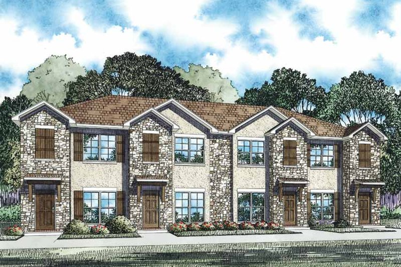 Dream House Plan - Traditional Exterior - Front Elevation Plan #17-3358