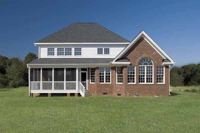 Country Exterior - Rear Elevation Plan #929-657 - Houseplans.com