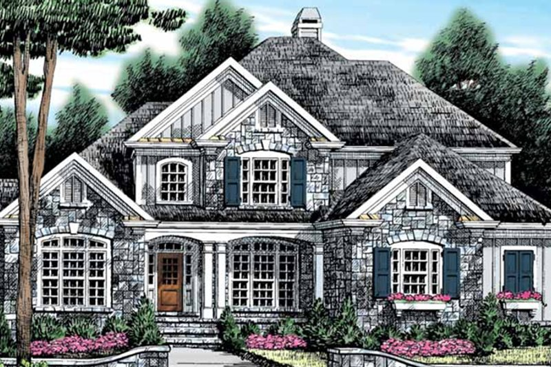 Country Exterior - Front Elevation Plan #927-890 - Houseplans.com