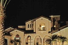 House Plan Design - Mediterranean Exterior - Front Elevation Plan #1039-2