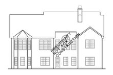 Country Exterior - Rear Elevation Plan #927-922