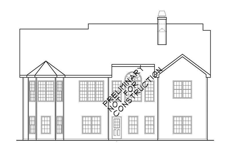 Country Exterior - Rear Elevation Plan #927-922 - Houseplans.com