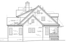 House Plan Design - Classical Exterior - Other Elevation Plan #453-332