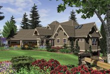 Dream House Plan - Craftsman Exterior - Front Elevation Plan #48-233