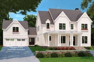 Farmhouse Exterior - Front Elevation Plan #927-992