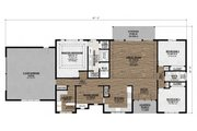 Ranch Style House Plan - 3 Beds 2 Baths 2128 Sq/Ft Plan #1077-4