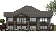 Ranch Style House Plan - 3 Beds 2.5 Baths 2459 Sq/Ft Plan #1069-7 Exterior - Rear Elevation