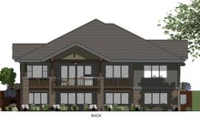 Ranch Exterior - Rear Elevation Plan #1069-7