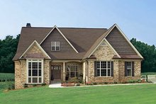 Ranch Exterior - Front Elevation Plan #929-601