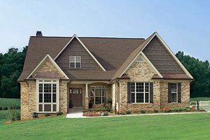 Dream House Plan - Ranch Exterior - Front Elevation Plan #929-601