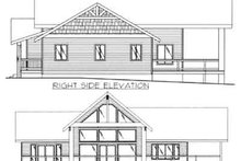 Modern Exterior - Rear Elevation Plan #117-455