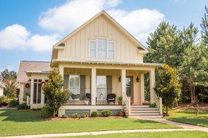 Farmhouse Exterior - Front Elevation Plan #430-76