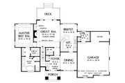 Country Style House Plan - 3 Beds 2.5 Baths 1799 Sq/Ft Plan #929-672 Floor Plan - Other Floor