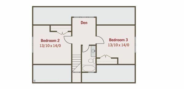 Craftsman Floor Plan - Other Floor Plan Plan #461-19
