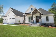 Craftsman Style House Plan - 3 Beds 2 Baths 2073 Sq/Ft Plan #430-157 Exterior - Other Elevation