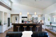 House Plan Design - Contemporary style home, modern design house, kitchen photo