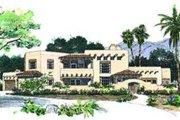Adobe / Southwestern Style House Plan - 4 Beds 3 Baths 3328 Sq/Ft Plan #72-181