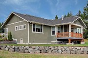 Craftsman Style House Plan - 2 Beds 2 Baths 1725 Sq/Ft Plan #132-101 Photo