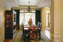 Country Interior - Dining Room Plan #927-8