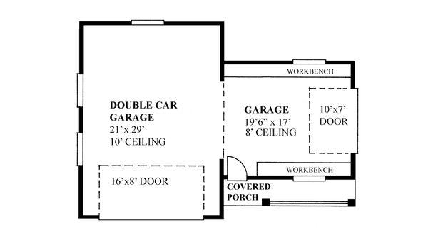 House Plan Design - Traditional Floor Plan - Main Floor Plan #118-176