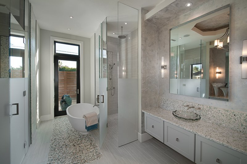 Contemporary Interior - Bathroom Plan #930-20 - Houseplans.com
