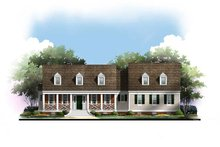 Traditional Exterior - Front Elevation Plan #119-355