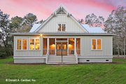 Country Style House Plan - 2 Beds 3 Baths 2018 Sq/Ft Plan #929-807 Exterior - Rear Elevation
